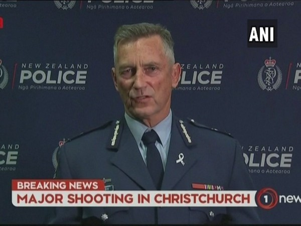 New Zealand Police Commissioner Mike Bush at a news conference in Wellington on Sunday.