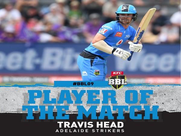 Travis Head   Image: BBL's Twitter
