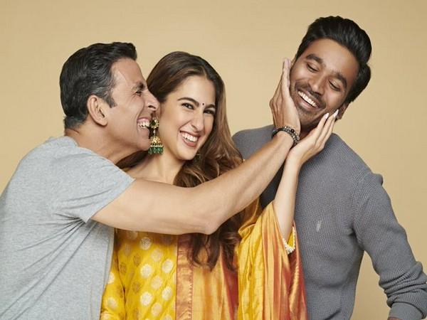 Akshay Kumar, Sara Ali Khan, Dhanush (Image source: Twitter)