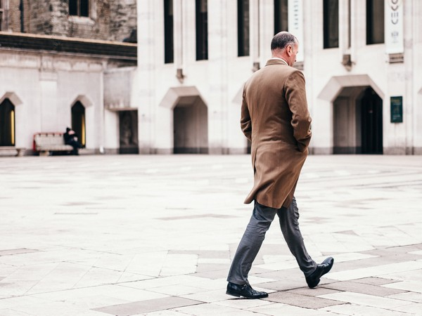 'Doctors know that slow walkers in their seventies and eighties tend to die sooner than fast walkers their same age.'