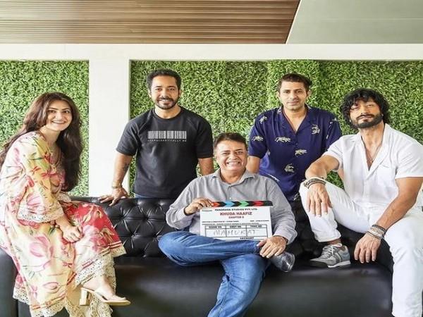 Team of 'Khuda Haafiz' sequel (Image source: Instagram)