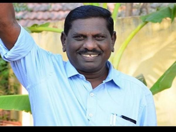 Kongad MLA from Palakkad district KV Vijayadas (Photo/ANI)