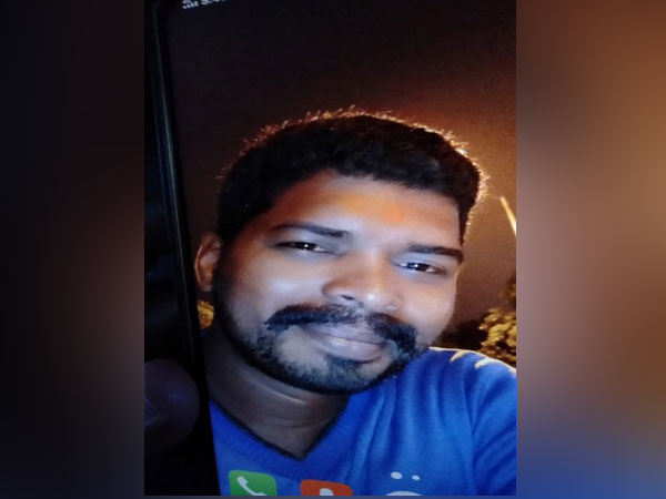 Ganesh, an accused nabbed on Sunday by Karnataka Police in connection with murder of former Alliance University VC. Photo/ANI