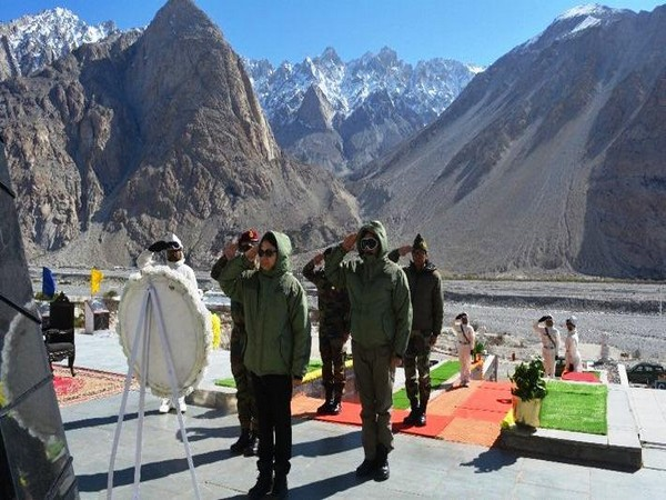 Secretary defence finance Gargi Kaul visits Army locations in Ladakh sector