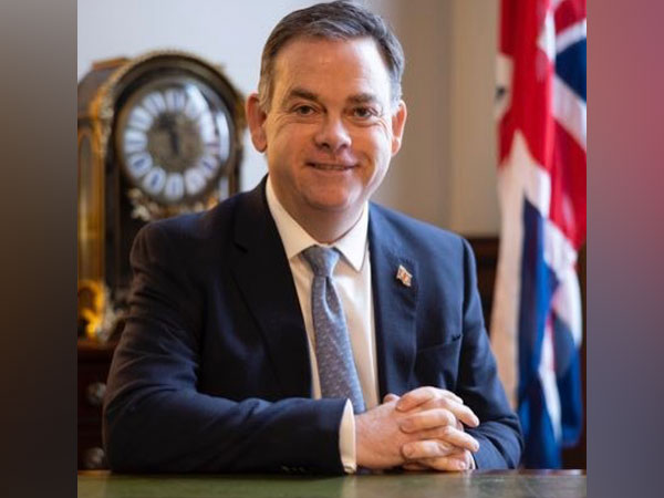 UK Minister of State for Asia Nigel Adams