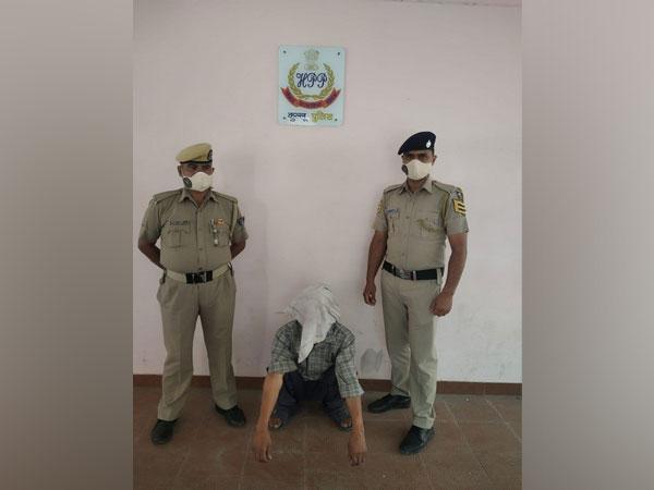 Photo of the accused in Kullu.