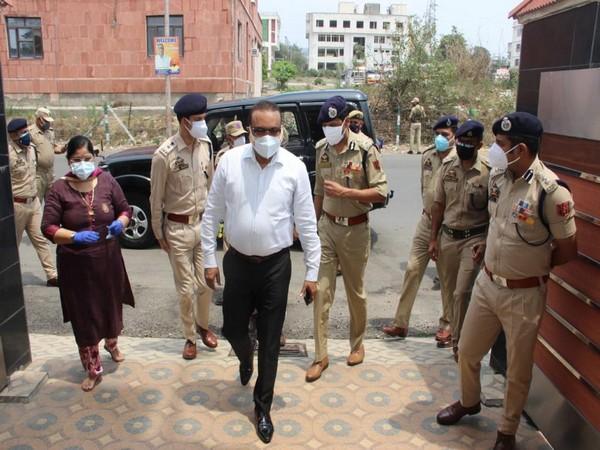Jammu and Kashmir Director General of Police Dilbag Singh. (Photo/ANI)