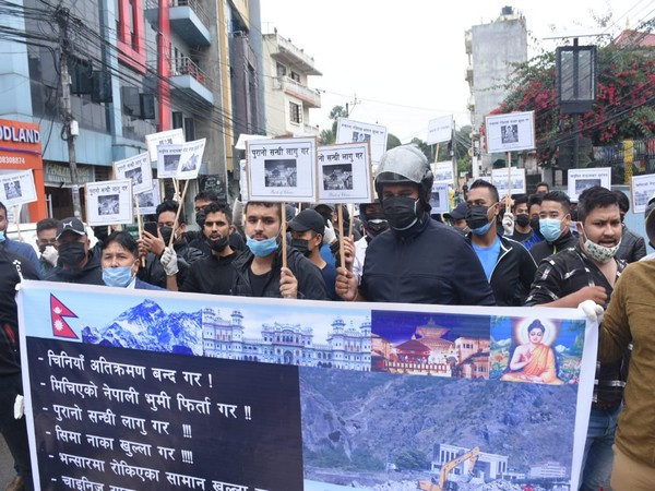 Protests break out in the Nepali capital in Kathmandu on Wednesday