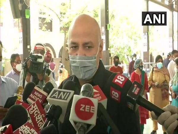 Delhi's Deputy Chief Minister, Manish Sisodia (Photo/ANI)
