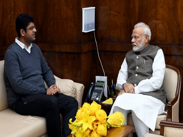 Haryana Deputy Chief Minister Dushyant Chautala is scheduled to meet Prime Minister Narendra Modi on Wednesday at 11:45 am. [File image]