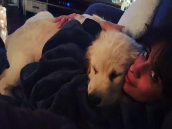 Camila Cabello with pet Tarzan (Image Source: Instagram)