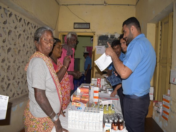 Over 200 avail of day-long medical camp organised by Indian Navy