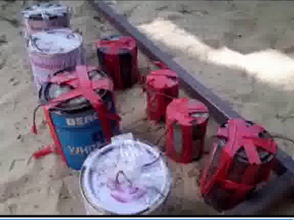 Canes containing explosive. Photo/ANI