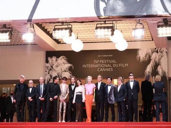 The cast of 'The French Dispatch' at Cannes Film Festival (Image source: Instagram)