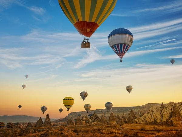 Cappadocia, Hot Air Ballooning