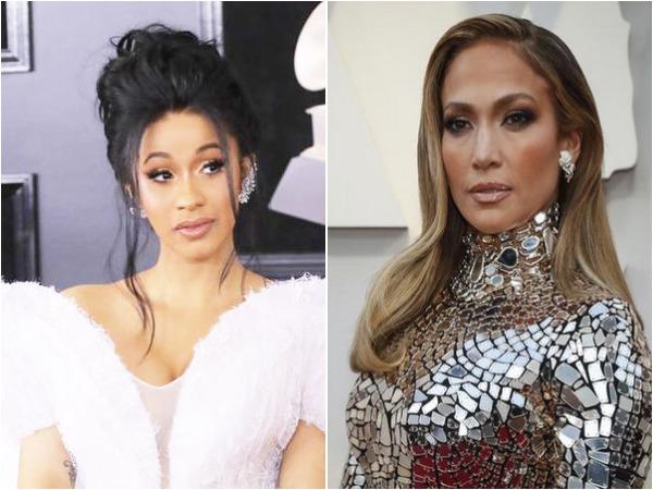 Cardi B and Jennifer Lopez