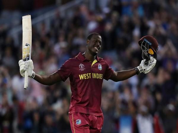 West Indies cricketer Carlos Brathwaite