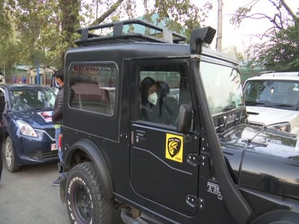 Visual from the car rally in J-K. [Photo: ANI]