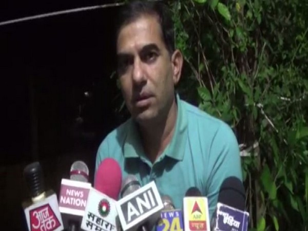 Deputy Superintendent of Police Kishor Kumar speaks to media on Thursday. (Photo: ANI)