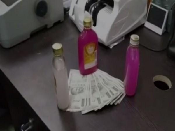 Money seized by police. (Photo/ANI)