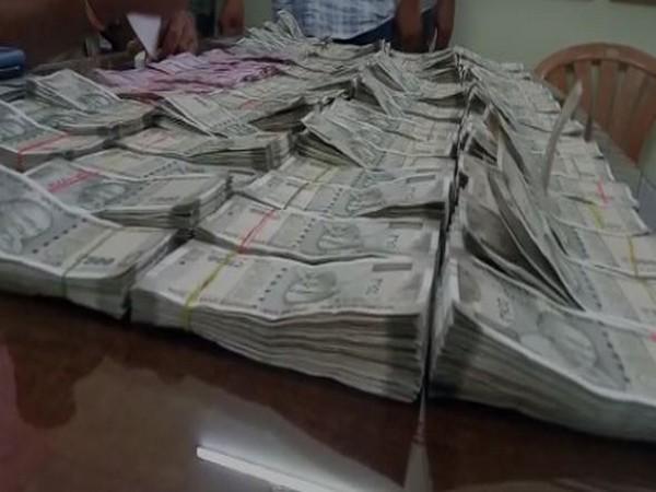 Seized cash (Photo/ANI)