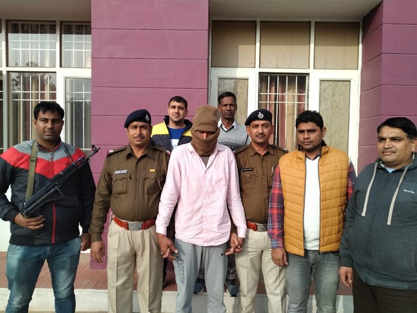Prem Kumar, a most wanted criminal was nabbed by Haryana Police on Monday. Photo/ANI
