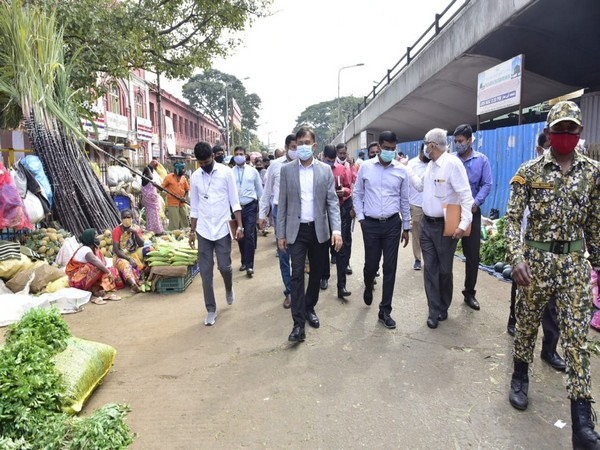 BBMP Administrator on inspection on Monday