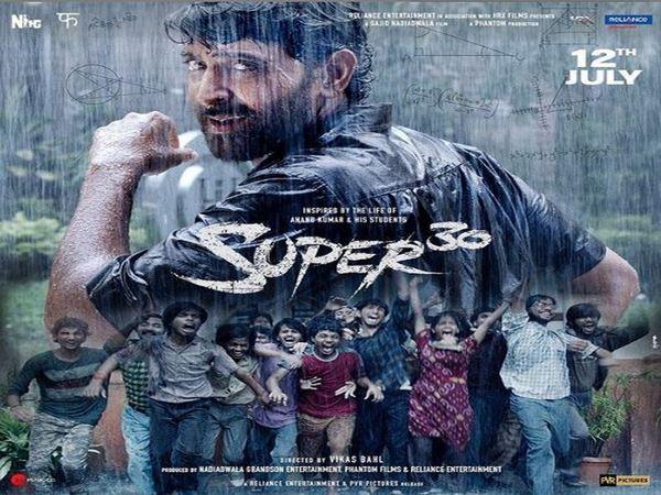 Poster of 'Super 30', Image courtesy: Instagram