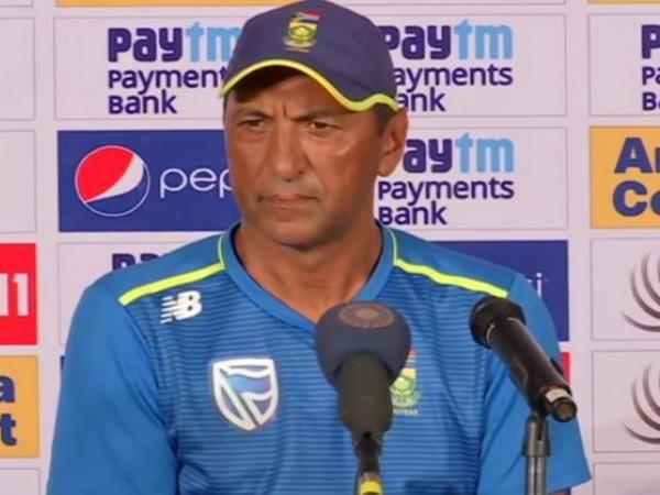 South Africa bowling coach Vincent Barnes