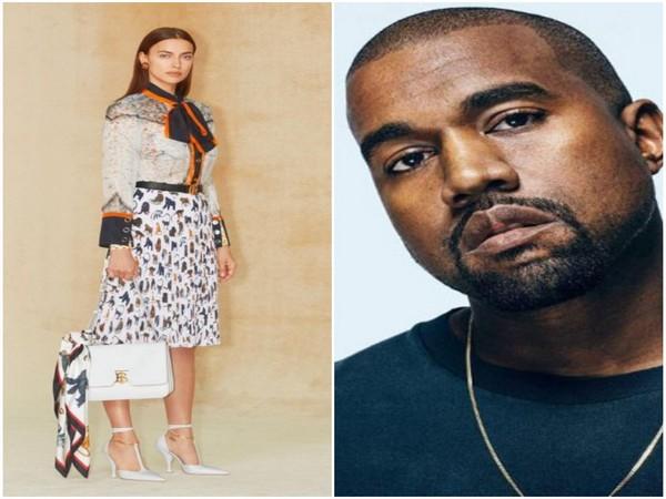 Irina Shayk and Kanye West (Image Source: Instagram)