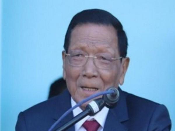 Deputy Chief Minister of Mizoram, Pu Tawnluia.