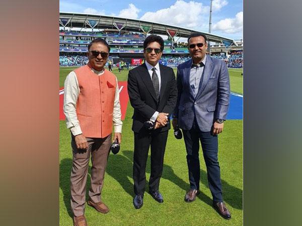 Sunil Gavaskar, Sachin Tendulkar and Virender Sehwag
