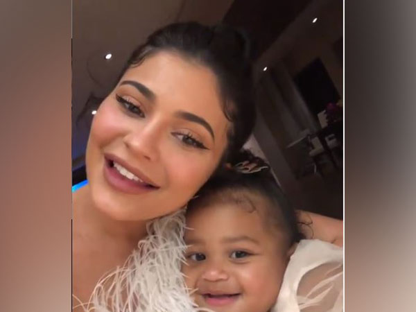 Kylie Jenner and her daughter Stormi Webster (Picture courtesy: Instagram)