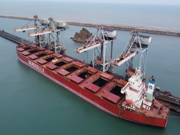 Gangavaram Port achieves 2 records in Bauxite Discharge and highest iron ore loading target