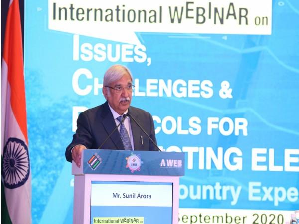 Chief Election Commissioner (CEC) Sunil Arora
