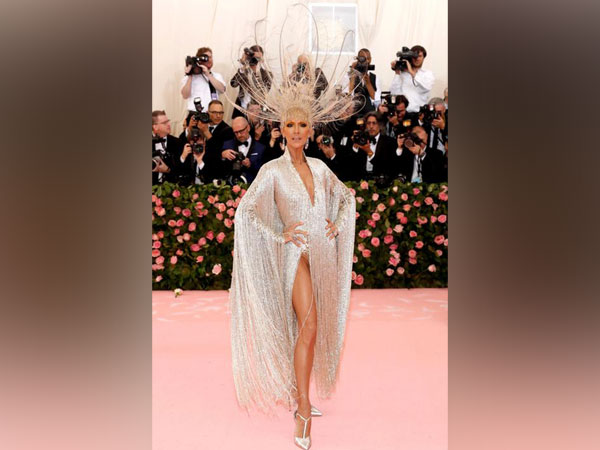 Celine Dion at the Metropolitan Museum of Art Costume Institute Gala - Met Gala - Camp: Notes on Fashion- Arrivals - New York City, U.S.