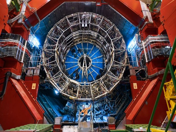 A view of the underground ALICE detector used in the study of the antideuteron (Image Courtesy: CERN)