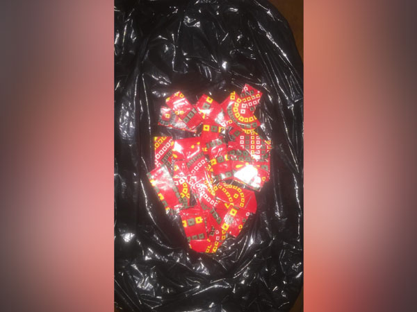 The police confiscated 50 grams of brown sugar worth Rs 50,000 from their possession. Photo/ANI