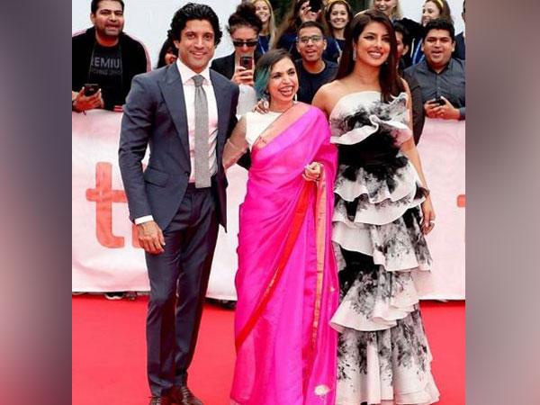 Farhan Akhtar, Shonali Bose and Priyanka Chopra, Image Courtesy: Instagram