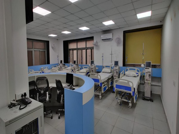 Visual of dialysis centre at PSMS Hospital, Kalkaji (Photo/Twitter)