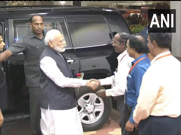 PM Modi reached ISRO headquarters to witness Chandrayaan 2 landing on Moon
