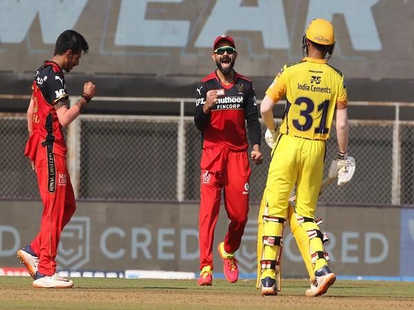 RCB spinner Yuzvendra Chahal and skipper Virat Kohli (Image: BCCI/IPL)