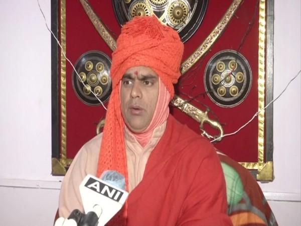 Hindu Mahasabha President speaking to ANI in New Delhi on Thursday.