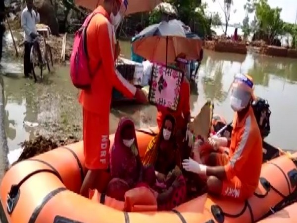 The woman developed labour pain, during the course of evacuation. (Photo: ANI)