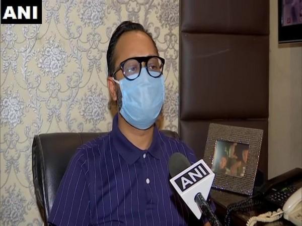 Ankit Gupta, president of Chandigarh Hospitality Association speaking to ANI on Monday