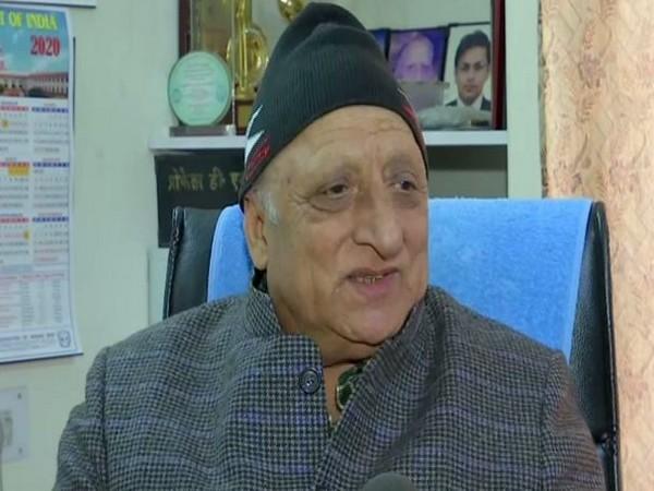 Professor DN Jauhar speaking to ANI in Chandigarh on Saturday