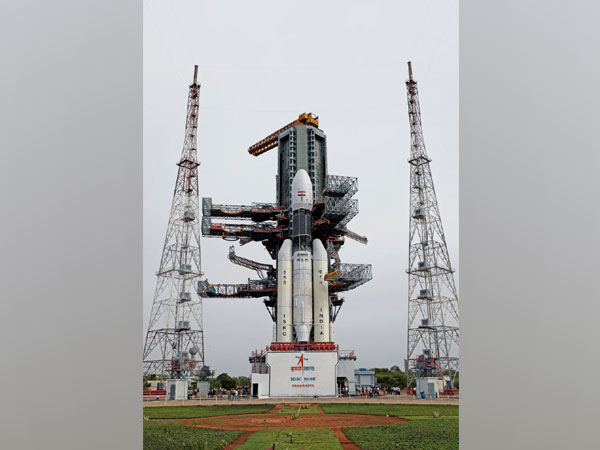 Geosynchronous Satellite Launch Vehicle Mark-III carrying Chandrayaan-2 (file pic)