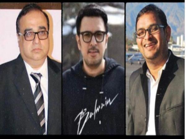 Filmmakers Rajkumar Santoshi, Dinesh Vijan, and Mahaveer Jain (Image Source: Instagram)