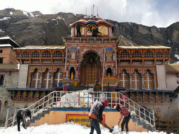 Visual from Badrinath Temple (File image)