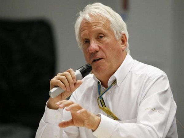 FIA race director Charlie Whiting